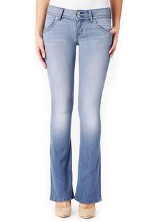 Hudson Signature Boot-Cut Denim Jeans, Seized