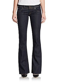 Hudson Signature Bootcut Double-Button Jeans