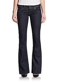 Hudson Signature Bootcut Double-Button Jeans