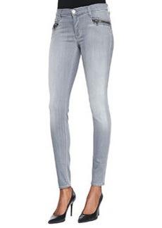 Hudson Spark Puritan Zip-Pocket Skinny Jeans