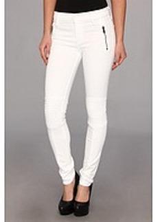 Hudson Stark Moto Pant in White