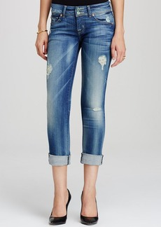Hudson Straight Crop Jeans in Blondie