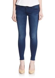 Hudson Super Skinny Cropped Jeans