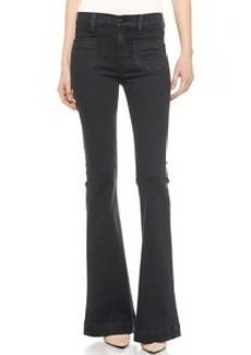 Hudson Taylor High Waisted Flare Jeans