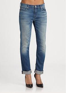 Hudson Tilda Mid-Rise Cuffed Jeans