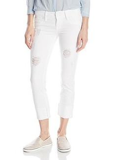 Hudson Women's Ginny Straight Crop Jean with Cuff In Gateways, Gateways, 32