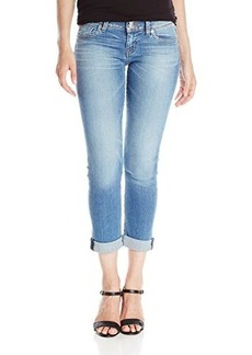 Hudson Women's Ginny Straight Crop Jean with Cuff In Hot Springs, Hot Springs, 29