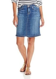 Hudson Women's Groundbreaker Released Hem Skirt, Groundbreaker, 24