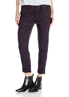 Hudson Women's Jamie Chino Pant In Prussian Dot