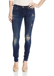 Hudson Women's Krista Distressed Skinny Jean In Addicted