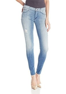 Hudson Women's Krista Distressed Skinny Jean In Seized