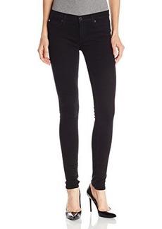 Hudson Women's Krista Supermodel Length Skinny Jean In Black