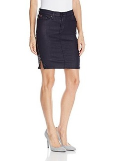 Hudson Women's Marianne Pencil Skirt In Navy Wax