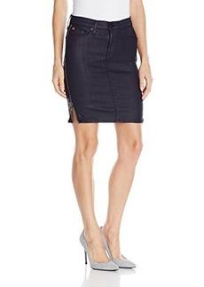 Hudson Women's Marianne Pencil Skirt In Navy Wax