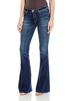 Hudson Women's Mia 5 Pocket Midrise Flare Jeans, Del Mar, 24