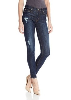 Hudson Women's Nico Distressed Midrise Skinny Jean In Outwitted