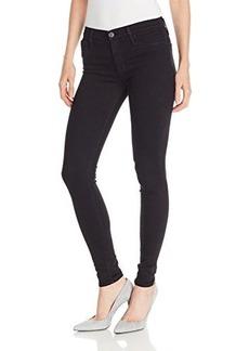 Hudson Women's Nico Midrise Skinny Jean In Black