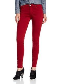 Hudson Women's Nico Midrise Skinny Jean in Cinnabar Red