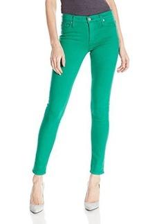 Hudson Women's Nico Midrise Skinny Jean In Graceland Green