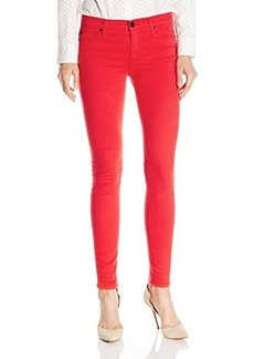 Hudson Women's Nico Midrise Skinny Jean In Red