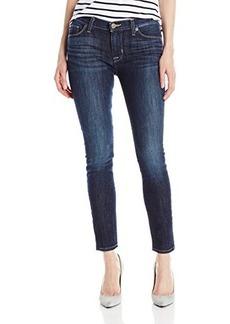 Hudson Women's Nico Midrise Super Skinny Ankle Jean, Maldives, 25