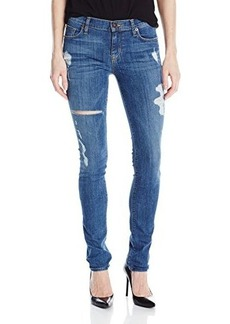 Hudson Women's Shine Distressed Skinny Jean