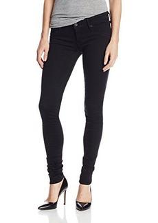 Hudson Women's Tall Collin Supermodel Skinny Jean in Black