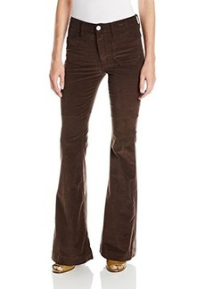 Hudson Women's Taylor Flare Cord In Foxglove Brown, 26