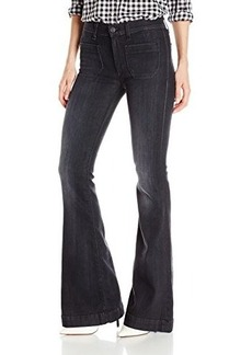 Hudson Women's Taylor Flare In Blackbird, Blackbird, 32