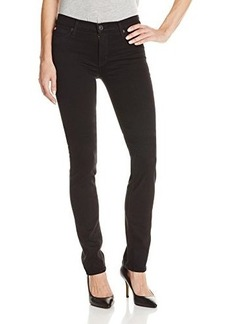 Hudson Women's Tilda Midrise Straight Jean In Black