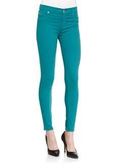 Nico Mid-Rise Skinny Jeans, Aquamarine   Nico Mid-Rise Skinny Jeans, Aquamarine