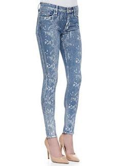 Nico Super Skinny Copperhead Snake-Print Jeans   Nico Super Skinny Copperhead Snake-Print Jeans