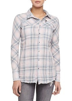 Ryan Exhale Plaid Button-Down Shirt   Ryan Exhale Plaid Button-Down Shirt