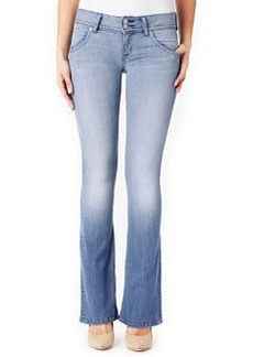 Signature Boot-Cut Denim Jeans, Seized   Signature Boot-Cut Denim Jeans, Seized