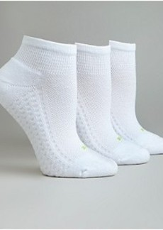 HUE Air Cushion Low-Cut Socks 3-Pack