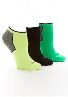 HUE Air Sleek Athletic Socks 3-Pack
