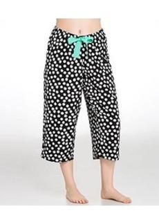 HUE Aloha Dot Knit Capri Pajama Pants Plus Size