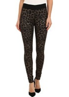 HUE Animal Print Ponte Leggings