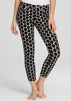 HUE Big Dot Print Capri Leggings