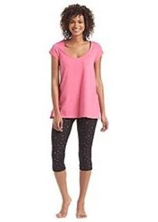HUE® Bitty Dots Capri Leggings Pajama Set