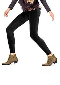 HUE® Black Pincord Leggings