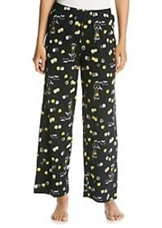 HUE® Black/Multi Knit Pants - Appletini