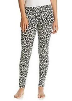HUE® Black/White Knit Leggings - Late Bloomers