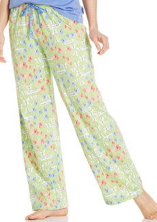 HUE Butterfly Print Pajama Pants