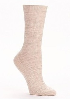 HUE Cable Knit Merino Wool Blend Socks
