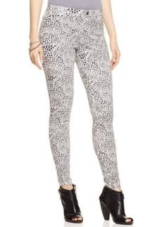 Hue Cheetah Smooth Denim Leggings