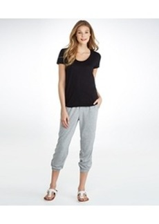 HUE ChillChic Relaxed Fit Jersey Capri