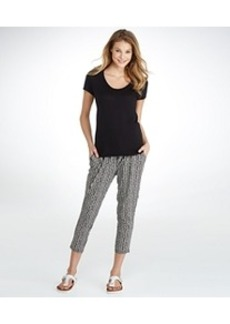 HUE ChillChic Relaxed Fit Skimmer Pants
