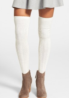 Hue Chunky Cable Knit Over the Knee Socks