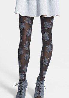 Hue 'Country Club Rose' Tights